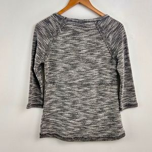 Maurices Tops - Maurices Knit Space Dyed Top Rough Raw Hems XS